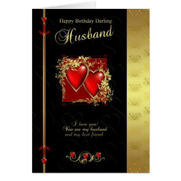 moonlake Husband Birthday Card - Happy Birthday Husband