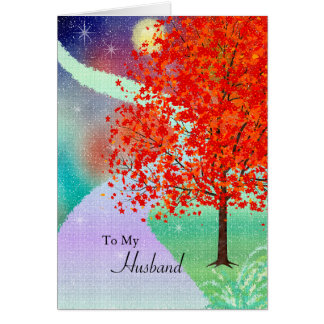 Husband Birthday Cards: Your Special Things Card