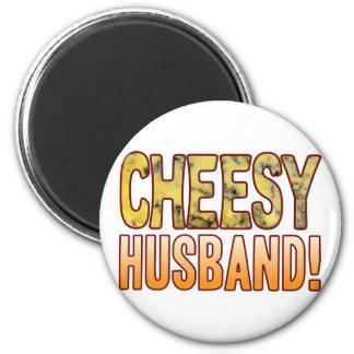 Husband Blue Cheesy Magnet