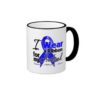 Husband - Colon Cancer Ribbon Ringer Coffee Mug