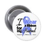 Husband - Esophageal Cancer Ribbon Pin