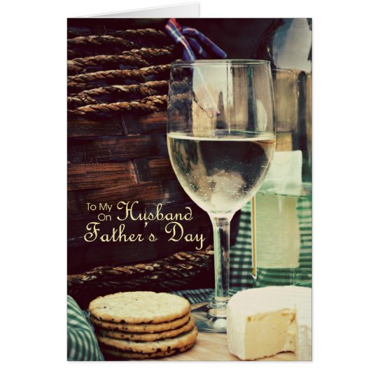 Husband Father's Day Wine Card