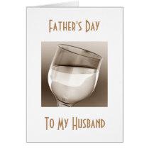 "HUSBAND ""FATHE'S DAY"" TOAST TO CELEBRATE ""YOU"" CARD"
