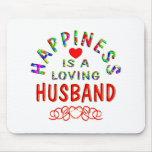 Husband Happiness Mouse Mats