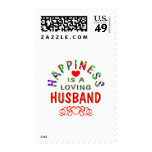 Husband Happiness Postage