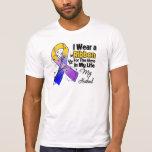 Husband Hero in My Life Bladder Cancer T-Shirt