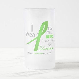 Husband Hero In My Life - Lymphoma Coffee Mug
