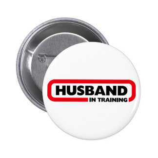 Husband in Training - Fun Valentine's Day Gift Pinback Button