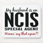 Husband Is An NCIS Agent Mousepads