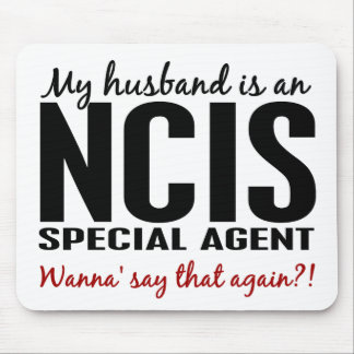 Husband Is An NCIS Agent Mousepads