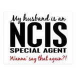 Husband Is An NCIS Agent Postcard