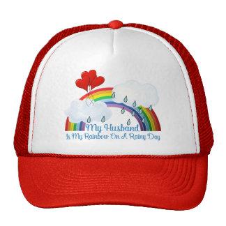 'Husband Is My Rainbow Trucker Hat