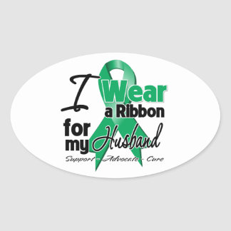 Husband - Liver Cancer Ribbon.png Stickers