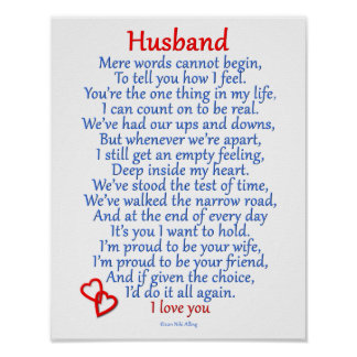 Husband Love Poster
