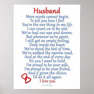 Husband Love Poster