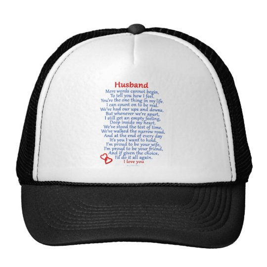 Husband Love Trucker Hat