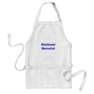 Husband Material Adult Apron