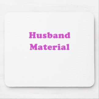 Husband Material Mouse Pad