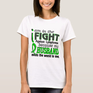 Husband Means The World To Me Lymphoma T-Shirt