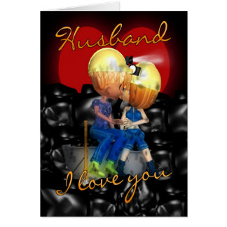 Husband - Mining Couple Valentine s Day Card