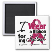 Husband - Multiple Myeloma Ribbon Magnet