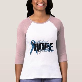 Husband My Hero - Colon Cancer Hope T-Shirt