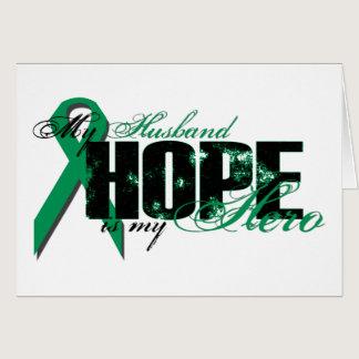 Husband My Hero - Kidney Cancer Hope Card