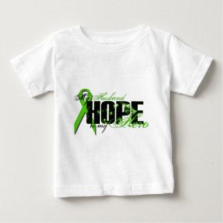 Husband My Hero - Lymphoma Hope Baby T-Shirt