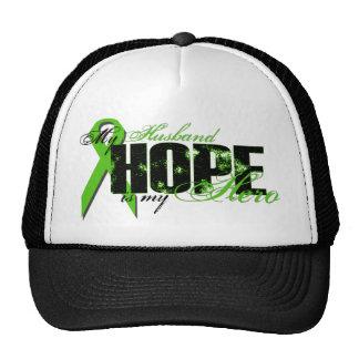 Husband My Hero - Lymphoma Hope Trucker Hat