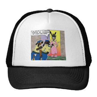 Husband Neutered Funny Dog Or Police Gifts & Tees Trucker Hat