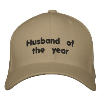 Husband of the Year Embroidered Baseball Cap