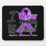 Husband - Pancreatic Cancer Ribbon Mouse Pad