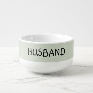 Husband, personalised soup mug