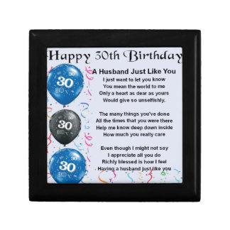 30th Birthday Gift Husband
