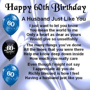 Husband 60th Birthday Gift Boxes Keepsake