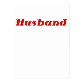 Husband Postcard