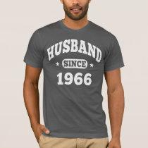 Husband Since 1966 T-Shirt