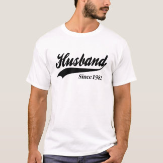 Husband Since 1982 T-Shirt