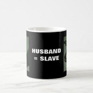 HUSBAND = SLAVE COFFEE MUG