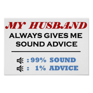 Husband Sound Advice Full Poster