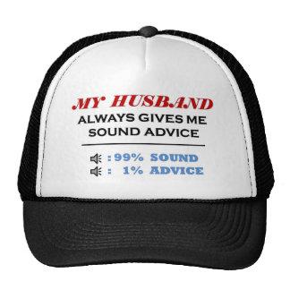 Husband Sound Advice Full Trucker Hat