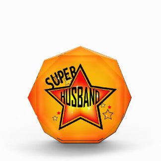 Husband Super Star Acrylic Award