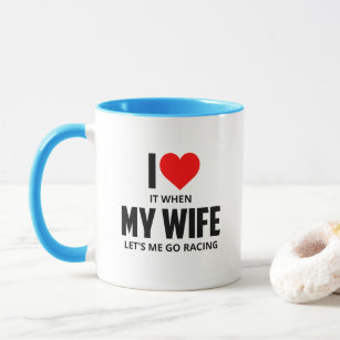 Husband Wife Funny Quotes Mug