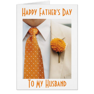 """HUSBAND """"YOUR SPECIAL DAY"""" HAPPY """"FATHER'S DAY"""" CARD"""