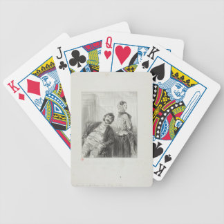 Husbands Always Make Me Laugh: Come, Mme. Bicycle Playing Cards