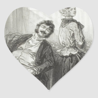 Husbands Always Make Me Laugh: Come, Mme. Heart Sticker