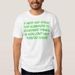 Husbands and Memory T Shirt