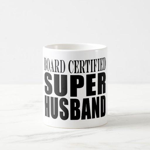 Husbands Anniversaries Birthdays : Super Husband Classic White Coffee Mug