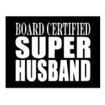 Husbands Anniversaries Birthdays : Super Husband Postcard