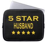 Husbands Birthdays Valentines : Five Star Husband Computer Sleeves